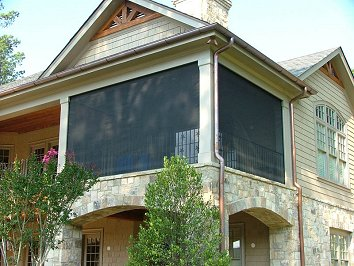 Solar Shade for porch